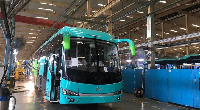 IN PERU, CIVA WILL HAVE KING LONG ELECTRIC BUSES FOR BUSINESS TRANSPORTATION