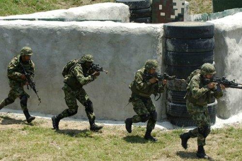 Fuerzas especiales del Ejercito colombiano. AFP