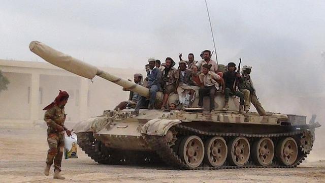 Fuerzas leales al presidente Hadi : REUTERS