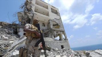 militar saudi en Aden, Yemen