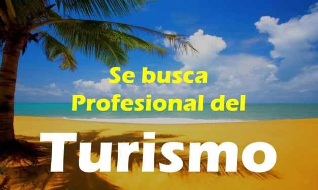 Oferta laboral: Profesional del sector turístico