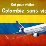 Voyager en Colombie sans visa