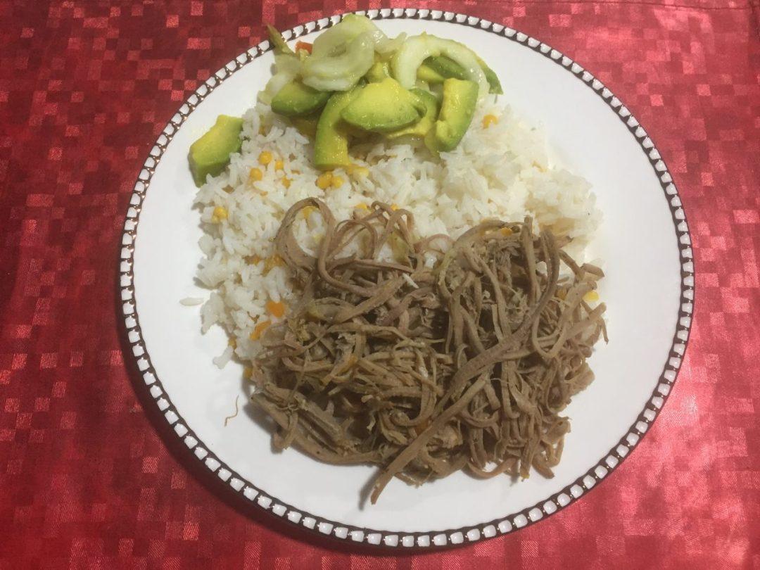 vivre chez une famille colombienne : repas