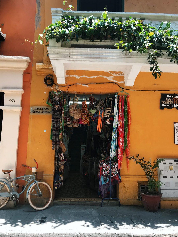 boutiques Carthagène des Indes Colombie