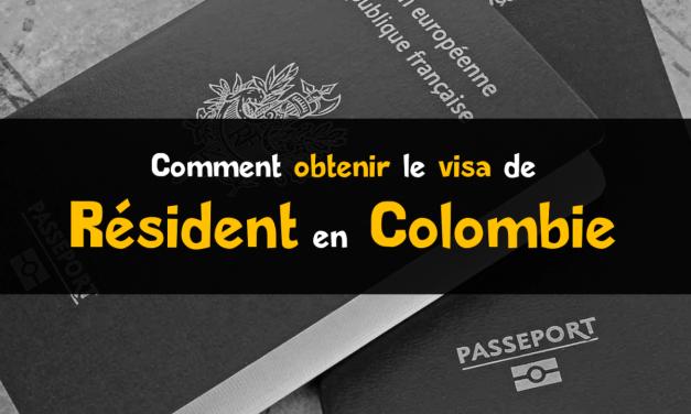 Visa résident Colombie : les démarches du visa R