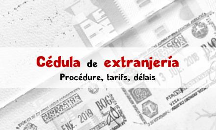 Demande de cédula colombienne : carte d'identité expatrié