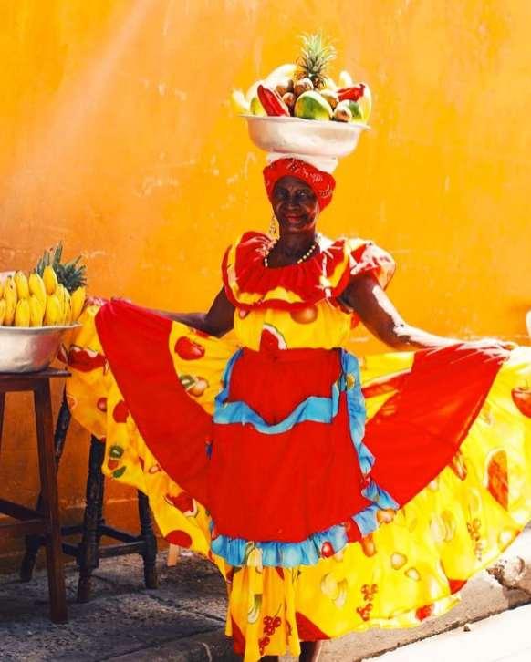 Palenqueras en Cartagena