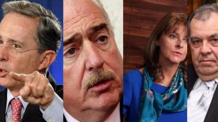 coalición con Marta Lucía, Pastrana y Ordóñez y Uribe