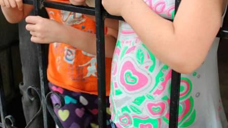 niñas abandonadas colombiano indignado