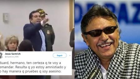 Jesús Santrich farc asesino centro democratico