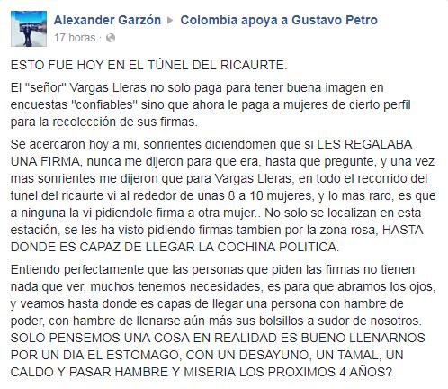 denuncia ciudadana en facebook