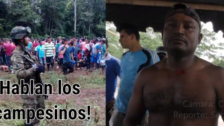 asesinato campesinos Tumaco