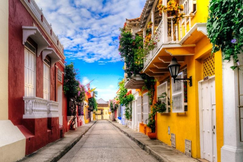 La inigualable Cartagena de Indias.