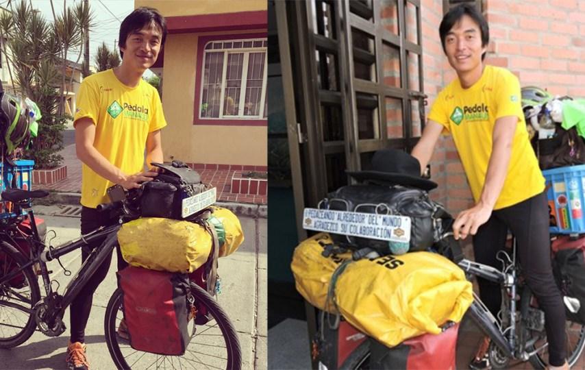 coreano bicicleta Kim Jeong Hwan