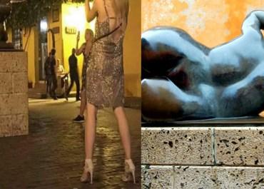 fernando botero escultura estatua cartagena desnudo