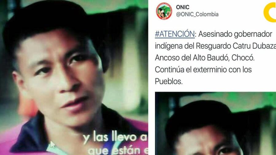 lider social indigena comunidad asesinado