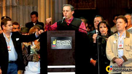 uribe santos y lleras campaña 2002 2006