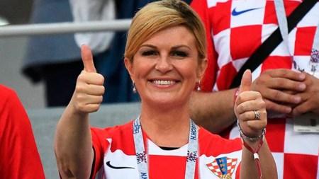 presidenta croacia sueldo mundial rusia 2018