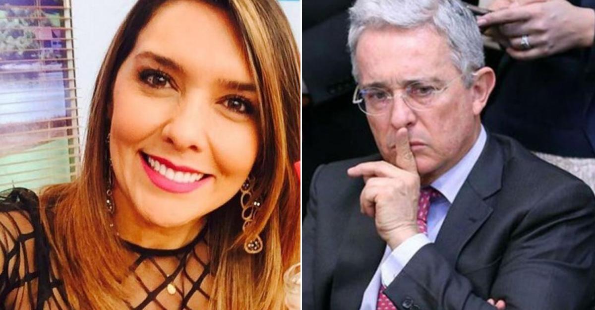Desde el uribismo exigen salida de Mónica Rodríguez de Caracol por tuits sobre Uribe