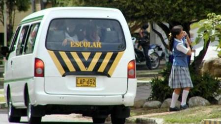 alcalde campesinos transporte escolar
