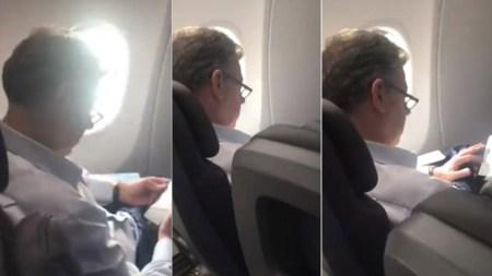 juan manuel santos avion insultos mujer