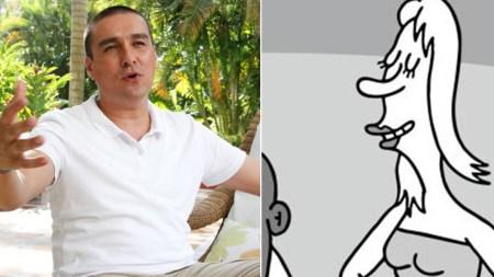 matador caricatura miss españa