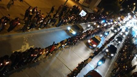 protesta estudiantes universidad nacional