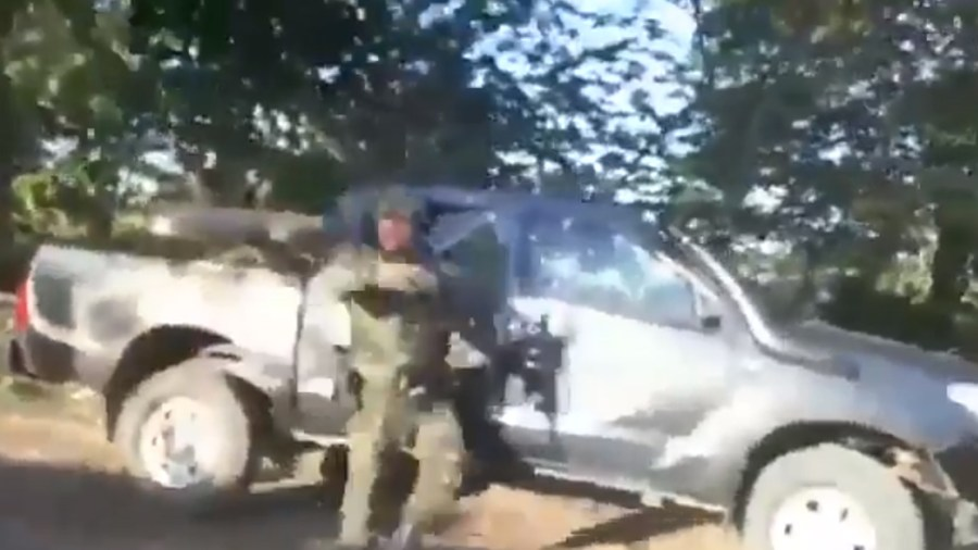 video ejército tibu norte de santander