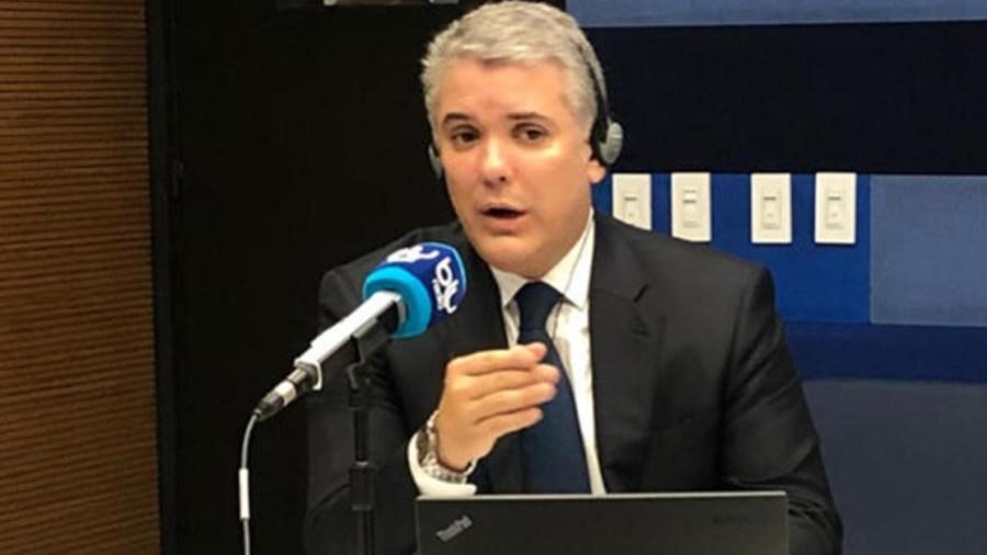 blu radio ivan duque persona de palabra presidente