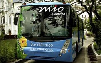 bus mio electrico medellin cali buses