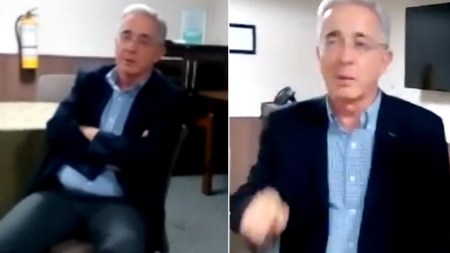 duque enderece alvaro uribe video