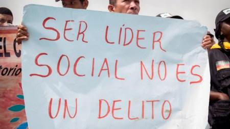 líder social colombia