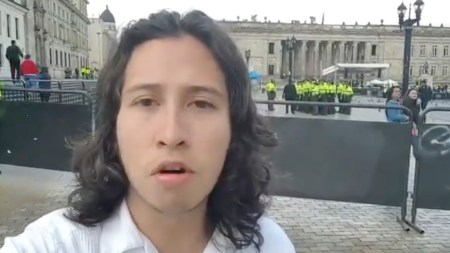 plaza de bolivar marcha