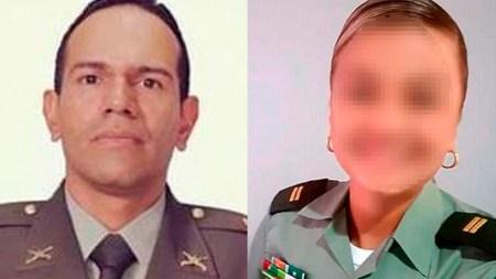 teniente policia colombia denuncia