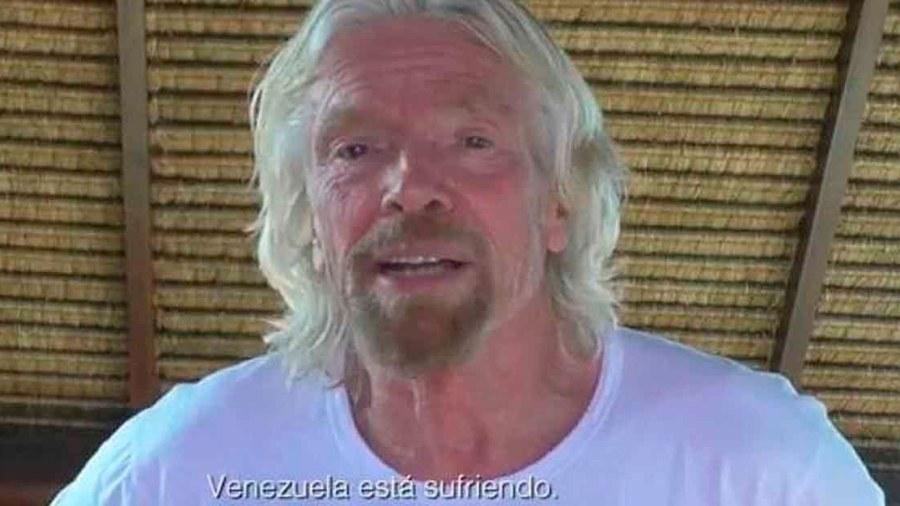 richard branson venezuela