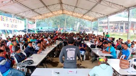 indigenas colombia onic paro
