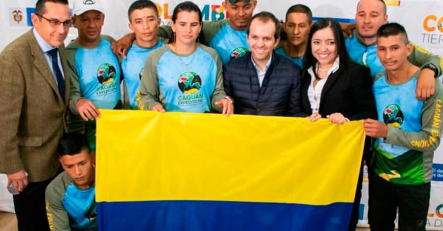 desmovilizados colombia deportes