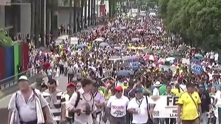 llaneros via cierre protesta