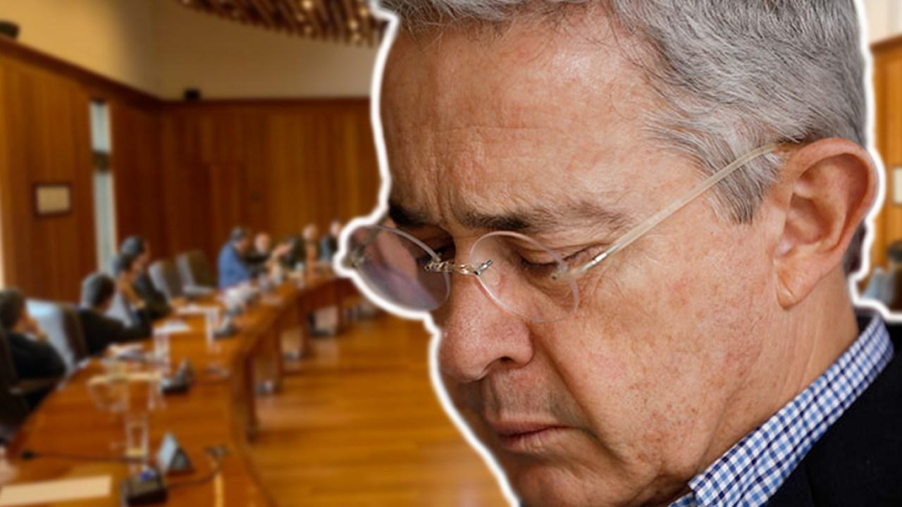 Revelan audio de Uribe con voz entrecortada llamando a su abogado por caso  en la Corte