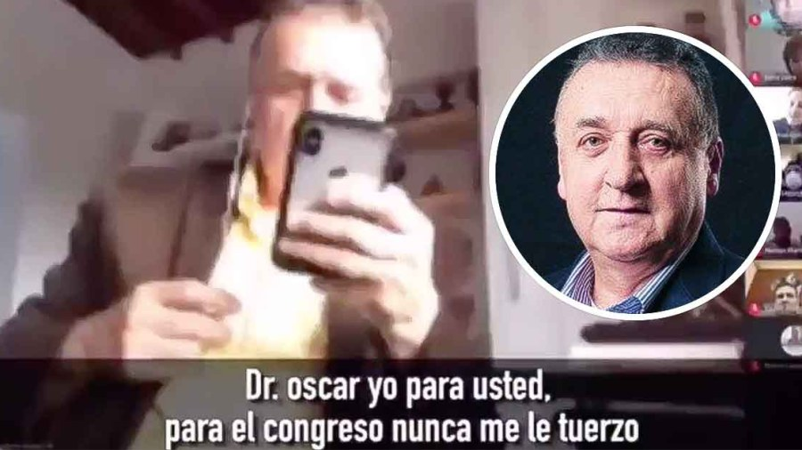 congresista uribista audio