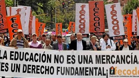 fecode colombia profesores
