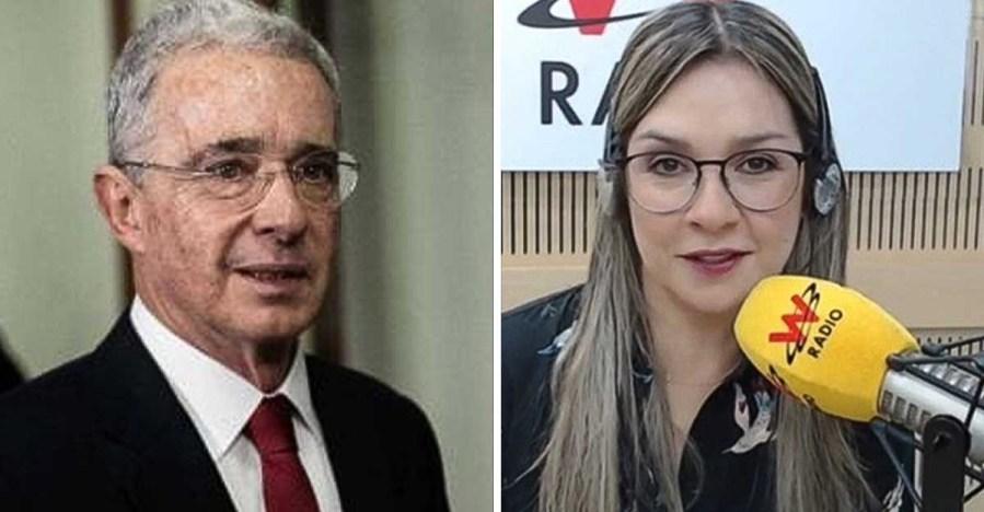 """Estoy convencida de que Uribe quedará libre"""": Vicky Dávila volvió a  criticar a la Corte Suprema"""
