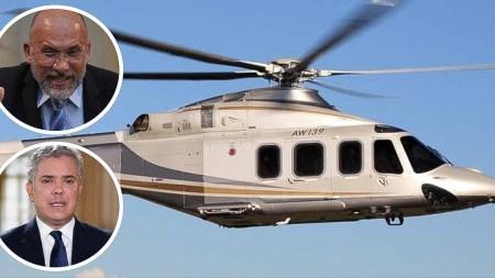 duque roy helicoptero