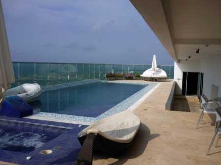 Alquiler Penthouse Bocagrande Cartagena de Indias