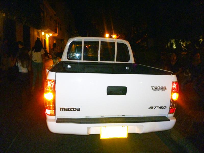 Alquiler de camionetas pickup en Cartagena de Indias  Colombia