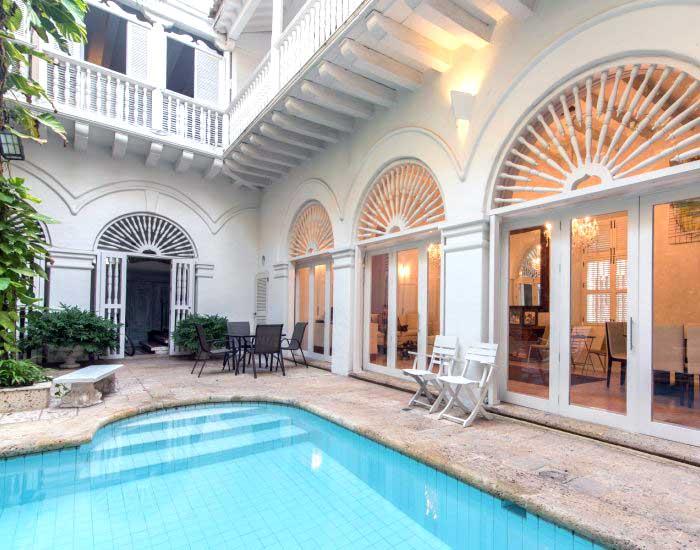 Alquiler Casas Coloniales de lujo en Cartagena de Indias