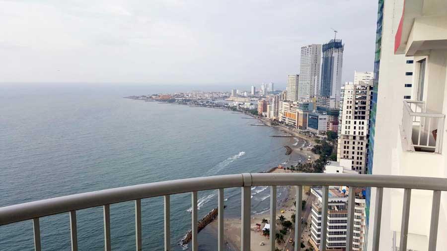 Apartamento en Bocagrande  Cartagena de Indias  Alquiler
