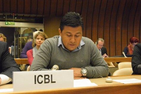 Guillermo Murcia, sobreviviente de MAP y coordinador de la CCCM en el departamento de Arauca