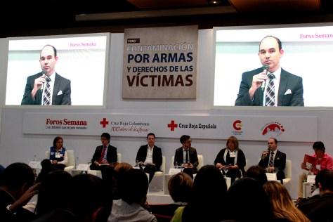 Intervención de Camilo Serna, subdirector de la Campaña Colombiana Contra Minas