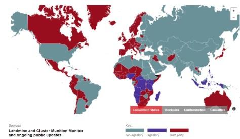 Fuente: Cluster Munition Coalition